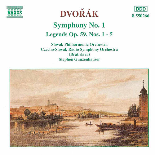 Symphony No. 1 / Legends Op. 59 by Antonin Dvorak