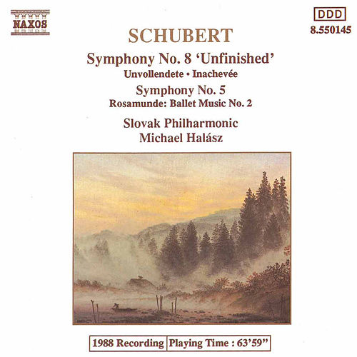 Symphonies Nos. 8 and 5 by Franz Schubert
