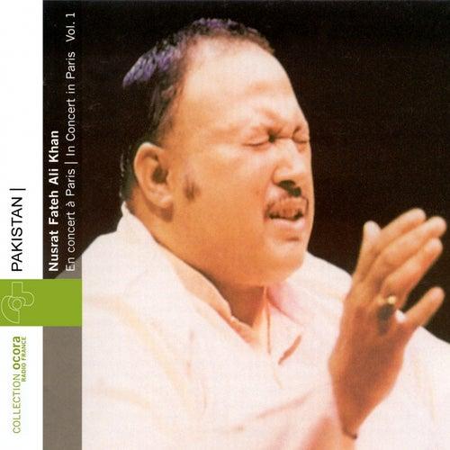 Pakistan : Nusrat Fateh Ali Khan en concert à Paris Vol.1 (1985) by Nusrat Fateh Ali Khan