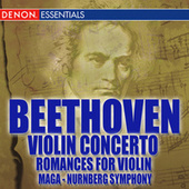 Beethoven Romances Nos. 1 & 2; Violin Concerto No. 1 by Various Artists