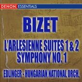 Bizet: L'Arlesienne Suite - Symphony No. 1 by Various Artists