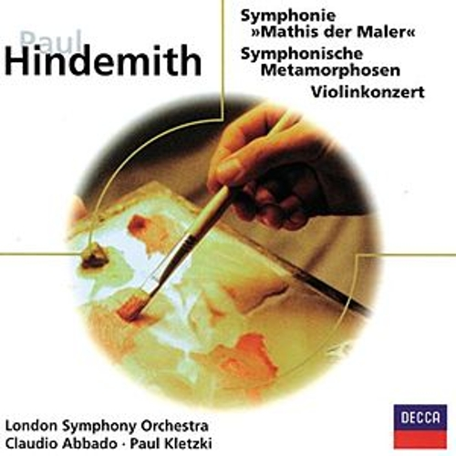 Hindemith: Mathis der Maler - Symphonische Metamorphosen - Violinkonzert by Various Artists