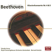 Beethoven: Piano Concerto No.4 Op.58 & No.5 Op.73 by Claudio Arrau