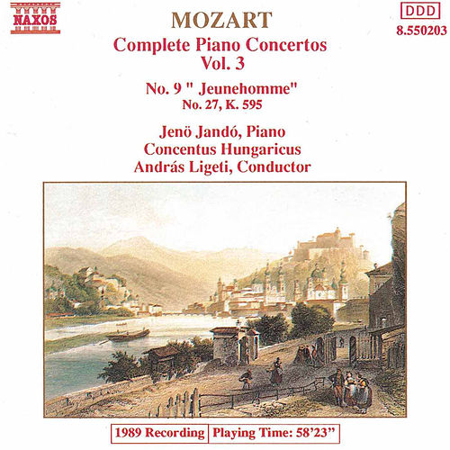 Piano Concertos Nos. 9 and 27 by Wolfgang Amadeus Mozart