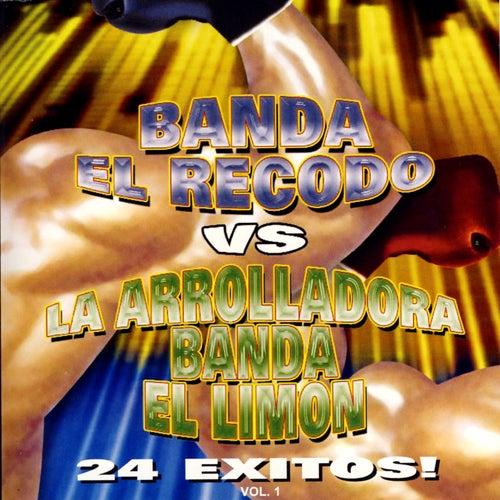 Banda El Recodo Vs La Arrolladora Banda El Limon by Various Artists