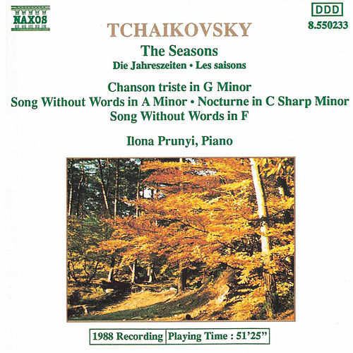 The Seasons by Pyotr Ilyich Tchaikovsky