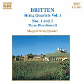 String Quartets Vol. 1 by Benjamin Britten