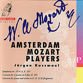 Mozart: Symphony no. 19 in A, Concerto for 2 Pianos in E Flat, Concerto for piano and violin in D by Amsterdam Mozart Players