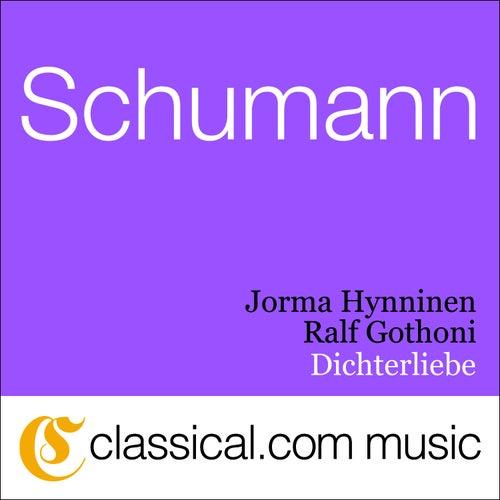 Robert Schumann, 12 Gedichte, Op. 35 by José van Dam