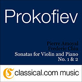 Sergey Prokofiev, Sonata For Violin And Piano No. 1 In F Minor, Op. 80 by Abdel Rahman El Bacha