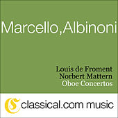 Alessandro Marcello, Oboe Concerto In D Minor by Various Artists