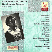 The Acoustic Records 1913-1918 by Giovanni Martinelli