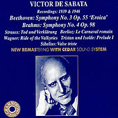 VICTOR DE SABATA Recordings From 1939 to 1946 by Various Artists