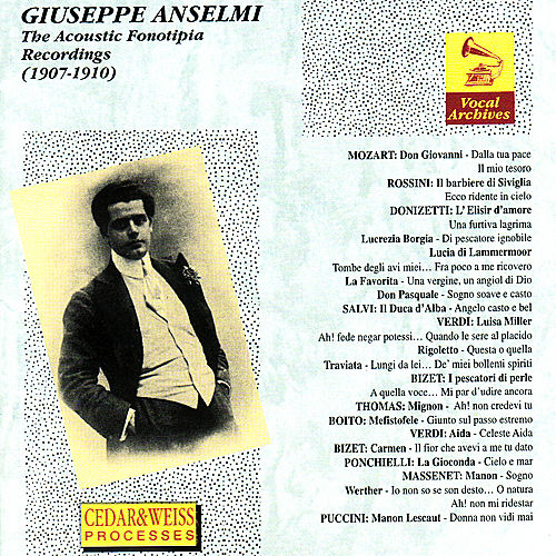 The Acoustic Fonotipia Recordings by Giuseppe Anselmi