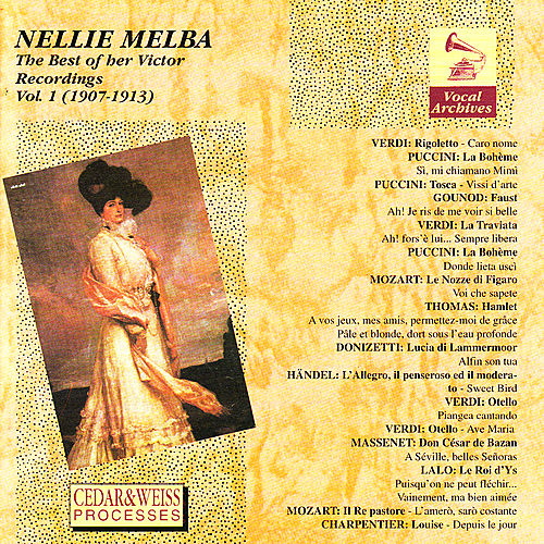 The Best of Her Victor Recordings Vol. 1 by Nellie Melba