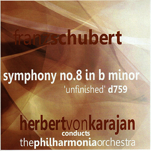 Schubert: Symphony No. 8 in B Minor by Philharmonia Orchestra