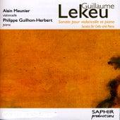 Sonate Pour Violoncelle Et Piano by Alain Meunier