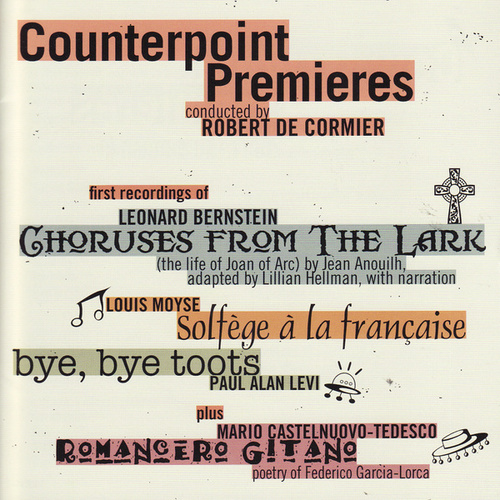 Counterpoint Premieres by Counterpoint