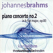 Brahms: Piano Concerto No. 2 by Staatskapelle Dresden