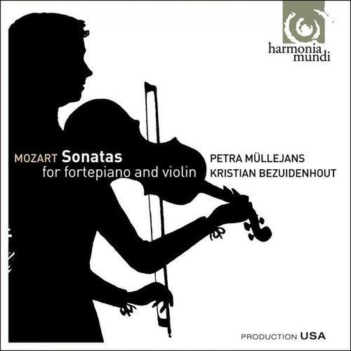 Mozart: Sonatas for Fortepiano & Violin by Petra Müllejans
