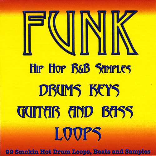 Funk Pop Drum Loops, Guitar, Bass and Keyboard Samples by 99 Smokin Hot Drum Loops