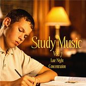 Music For Study, Concentration, and Relaxation Vol. 7 Late Night Concentration by Study Music