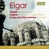 Edward Elgar. Flastaff, Enigma, Pomp and Circumstance No.5 by New Philharmonia Orchestra