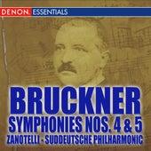 Bruckner: Symphonies Nos. 4 -5 by Various Artists