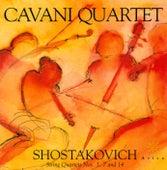 SHOSTAKOVICH, D.: String Quartets - Nos. 1, 7 14 (Cavani Quartet) by Cavani Quartet