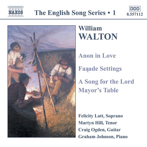 The English Song Series 1 by William Walton