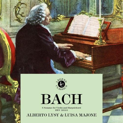 J.S. Bach: 6 Sonatas For Violin and Harpsichord BWV 1014-9 by Alberto Lysy