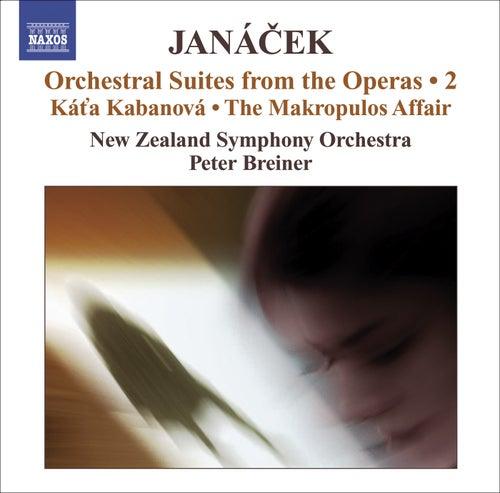 JANACEK, L.: Operatic Orchestral Suites, Vol. 2 (arr. P. Breiner) - Kat'a Kabanova / The Makropulos Affair by Peter Breiner