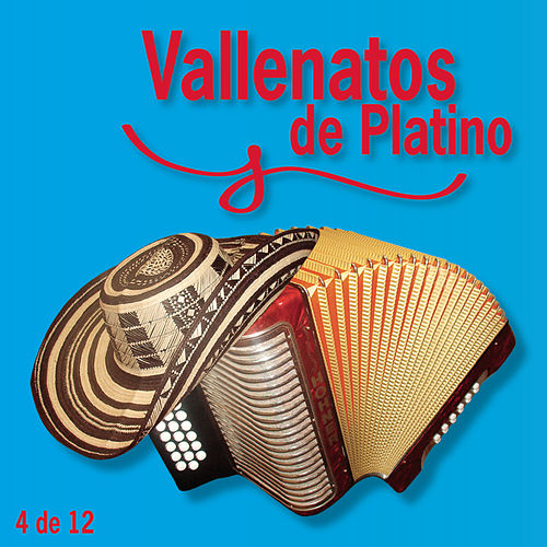Vallenatos De Platino Vol. 4 by Various Artists