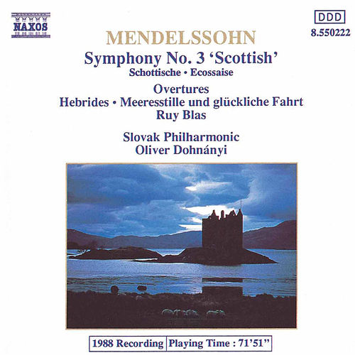 Symphony No. 3 'Scottish' by Felix Mendelssohn