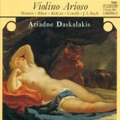 BACH, J.S.: Violin Partita No. 2 / BIBER, H.I.F. von: Violin Sonata / CORELLI, A.: Violin Sonata, Op. 5, No. 12 (Daskalakis, Strumpel, Lerch) by Ariadne Daskalakis