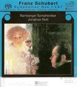 SCHUBERT, F.: Symphonies, Vol. 1 - Nos. 1, 3 and 8 (Bamberg Symphony, Nott) by Jonathan Nott