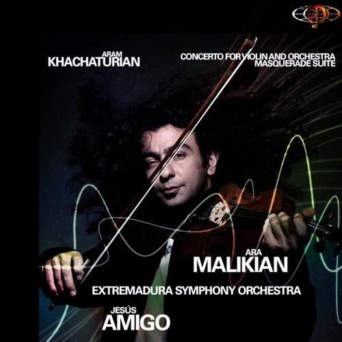 Aram Khachaturian. Violin Concerto. Masquerade Suite by Ara Malikian