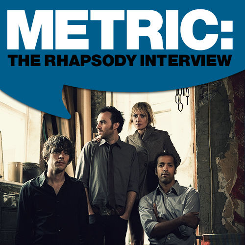 Metric: The Rhapsody Interview 2009 by Metric