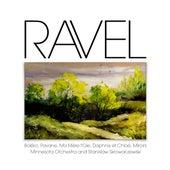 Ravel: Boléro, Pavane, Ma Mère l'Oie, Daphnis et Chloé, Miroirs by Minnesota Orchestra and Stanislaw Skrowaczewski
