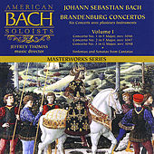 Bach: Brandenburg Concertos 1-3 by American Bach Soloists