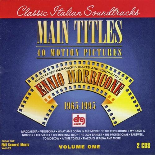 Main Titles, Vol. 1 (1965-1995) by Ennio Morricone