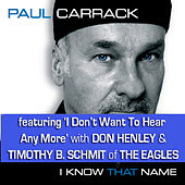 I Know That Name by Paul Carrack