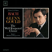 Bach: The Well-Tempered Clavier, Book I  Volume 2, BWV 854-861 by Glenn Gould