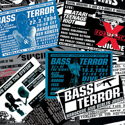 Bass Terror von Alec Empire