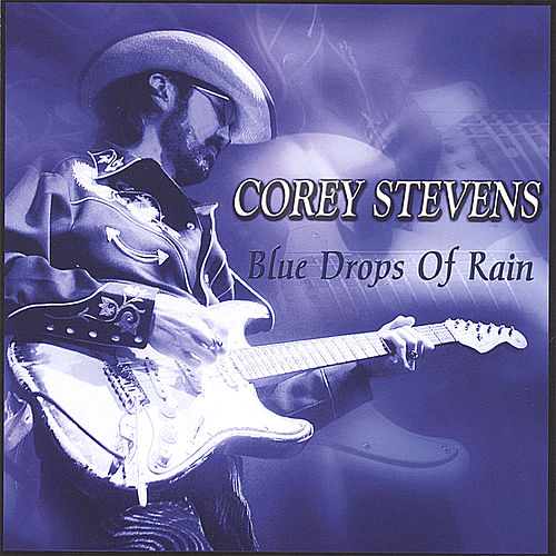 Blue Drops of Rain by Corey Stevens