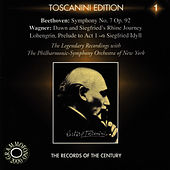 Beethoven: Symphony No. 7 in A - Wagner: Lohengrin, Siegfried Idyll, et al. by New York Philharmonic