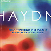 Haydn: Complete Music for Solo Keyboard by Ronald Brautigam