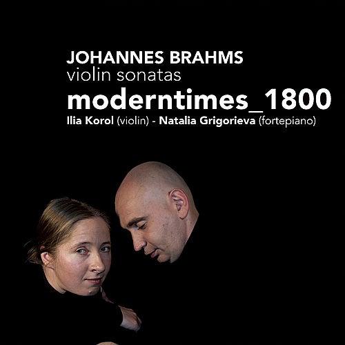 Brahms: Violin Sonatas No. 1-3 by Moderntimes_1800