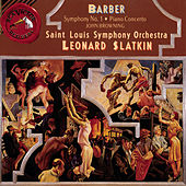 Concerto and Symphony No. 1 by Samuel Barber