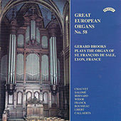 Great European Organs No. 58: St Francois de Sale, Lyon by Gerard Brooks